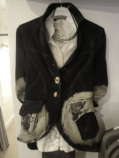 Elisa Cavaletti jacket - £295.00 Elisa Cavaletti blouse - £99.95 Necklace £35.00