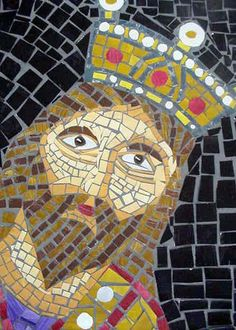 mosaic middle school art lesson