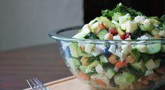 massaged Kale Dinner Salad