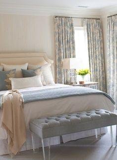 Blue and cream bedroom - https://bedroom-design-2017.info/decorations/blue-and-cream-bedroom.html. #bedroomdesign2017 #bedroom