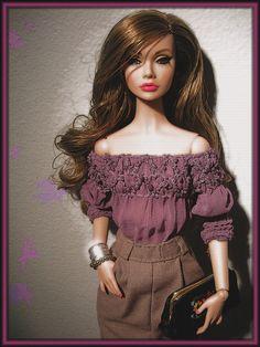 poppyparker Fashion royalty, Барби   VK