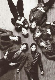 Infinite: Sunggyu, Sungyeol, Dongwoo, Myungsoo, Sungjon, Woohyun, Hoya