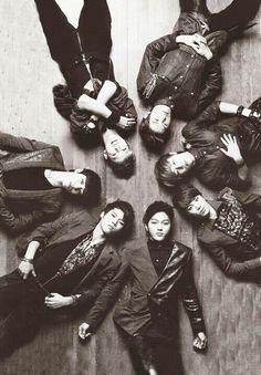 Infinite: Sunggyu, Sungyeol, Dongwoo, Myungsoo, Sungjong, Woohyun, Hoya