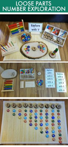 Ideas for math tray