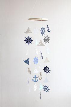 Pépinière de crèche de voilier Mobile nautiques par WhitehallFarmMD