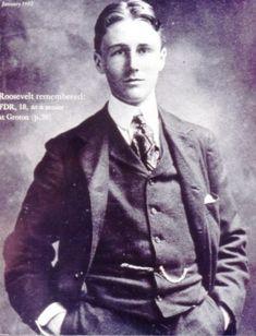 FDR, Roosevelt in a stylish sack suit, Edwardian era