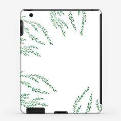 Чехол iPad «Love  leaves»