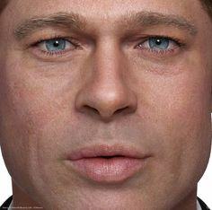 This CGI Potrait of Brad Pitt makes you want to update your workflow | CG Daily News
