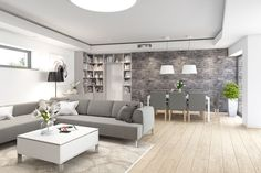 Dům Nad sluncem | Moskordesign.com Boy And Girl Shared Room, Home Organization, Ideal Home, Luxury Homes, Dining Bench, New Homes, Indoor, House Design, Couch