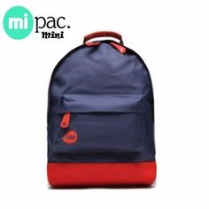 Mi-Pac Mini Rugzak Classic Navy - Red
