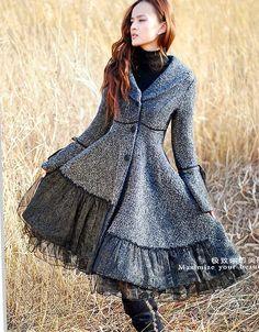 Lovely dress/coat.  Designed by xiaolizi
