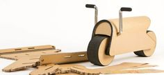 The D-Bike is a Build-It-Yourself Bike That's Assembled Like a Jigsaw