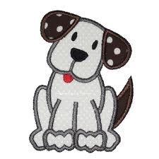 dog applique - Buscar con Google