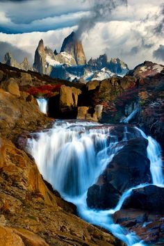 Patagonia Argentina The Smoking Mountain | From @GuessQuest collection  @nhannabasss  we go here