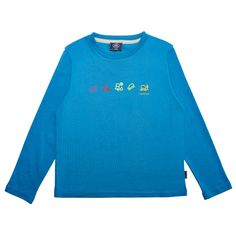 Boy's Terrain Icons Long Sleeve T-Shirt