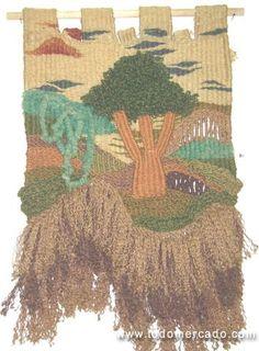 cursos de telar - tejido a telar - clases de telar Providencia Santiago
