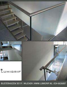 Bijzonder mooi ontwerp van glazen balustrade #Lumigrip