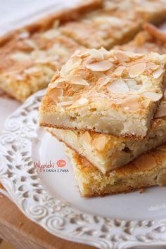 Ciasto bezglutenowe z kaszą jaglaną i jabłkami