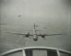 World War II Wellington bombers (1 of 2) by whatsthatpicture, via Flickr