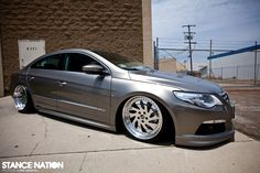VW CC on Airbags. Not a fan of the wheels but it looks sharp otherwise.