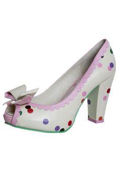 Lola Ramona - ANGIE P - High Heel Peeptoe - beige - absolut süüüüüß!!!