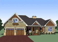Plan W14565RK: Attractive 3 Bedroom Rambler.   http://www.architecturaldesigns.com/PlanDetail.aspx?plannumber=14565rk