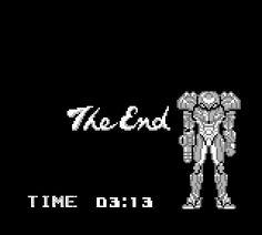 Metroid 2 ending