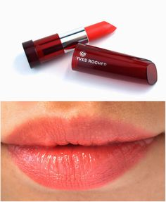 Yves Rocher Sheer Botanical Lipsticks: Review and Swatches 22. Corail Doux (Soft Coral)