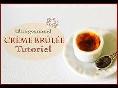 Crème brulée en pâte polymère/ Tutorial Creme Brulee polymer clay - YouTube