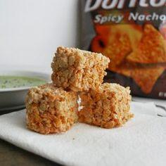 Doritos Rice Krispy Treats ~ i say no way, my 13 year old says YES WAY!!