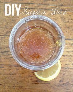 Super quick and easy tutorial to make DIY sugar wax at home. Learn how to make sugar wax on the stove with a kitchen thermometer in a few easy steps. This easy DIY sugar wax tutorial is effective and 100% natural. Try sugar waxing once and you'll never go back to regular waxing.