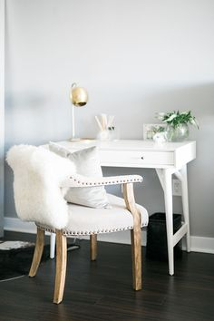a tiny thoughtful workspace happy chic workspace home office details ideas