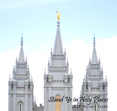 """2013 Youth theme! """"Stand Ye in Holy Places.."""""""
