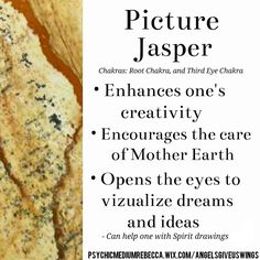 Picture Jasper crystal meaning