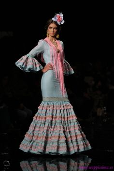 Traje de Flamenca - Hermanas-Serrano - Simof-2015 African, Prom, Costumes, Elegant, Skirts, Outfits, Inspiration, Beautiful, Dresses