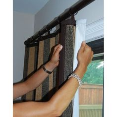 """Versailles Home Fashions Light Filtering Insulated Thermal Curtain Panel Liner Size: 84 """" W x 48"""" L"""