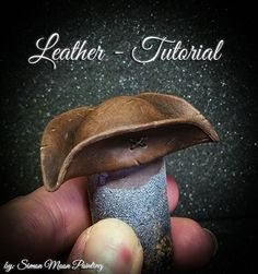 Here is a little Step by Step about how I did the Leather Tricorn of Jack Morgan, the Left-Handed from Black Crow Miniatures