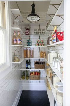 Take advantage of back-of-door storage: http://www.stylemepretty.com/living/2015/10/25/10-life-changing-kitchen-organization-tricks-from-a-pro/