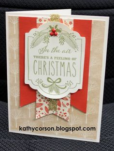 CTMH White Pines, Cricut Artistry and WOTG stamp set.