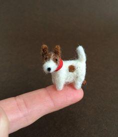 Miniature Jack Russell Terrier Tiny Mini Bear by TrimbleBerryBears