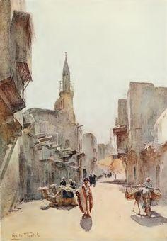 Ya hemos visto en una entrada anterior las acuarelas sobre Egipto de Walter Tyndale, pintor anglo-belga (1865-1943). Podemos acceder a es...