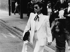 bianca jagger style icon