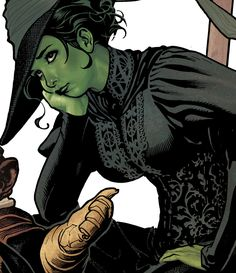 Wicked Witch of the West by Adam Hughes: Love his style, and this was too awesome not to share.