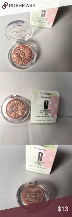 New Clinique Lip Pop Eyeshadow Brand New Clinique Lip Pop Eyeshadow 02 Cream Pop Clinique Makeup Eyeshadow