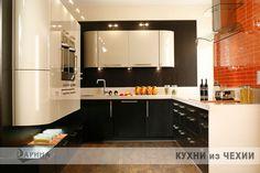 Освещение шкафов, цветовая вариация фасадов