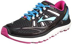 new style 5ebb4 30d1a Women s Brooks Transcend Running Shoe Black White Festival Fuschia Size 7 M  US Best Price in 2015. Richard Yap Young · athletics shoes