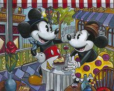 Cafe Mickey - Disney Fine Artist Amy Lynn