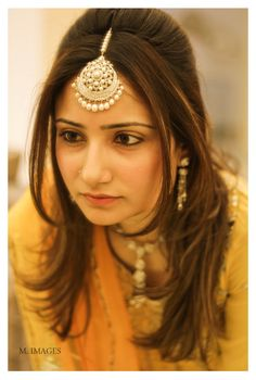 I *die* for that maang tikka! #Indian #Jewellery