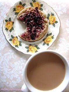 tea and crumpet