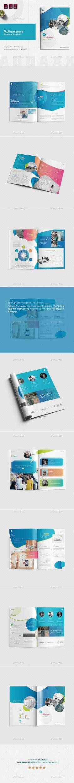 Multipurpose Brochure Template InDesign INDD - A4 & US Letter Size